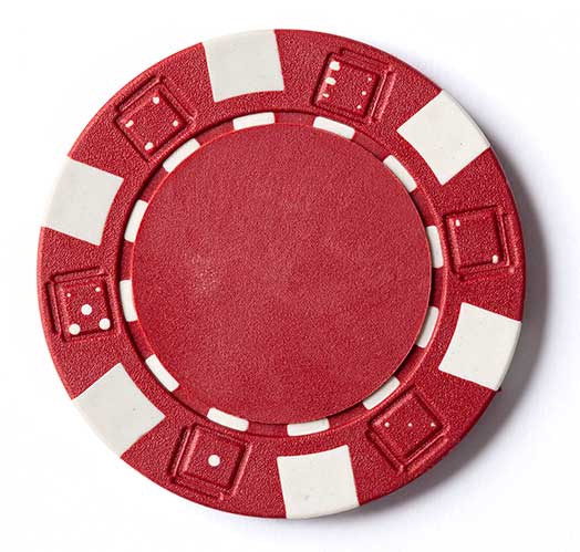 Poker chip and Near Miss Reporting