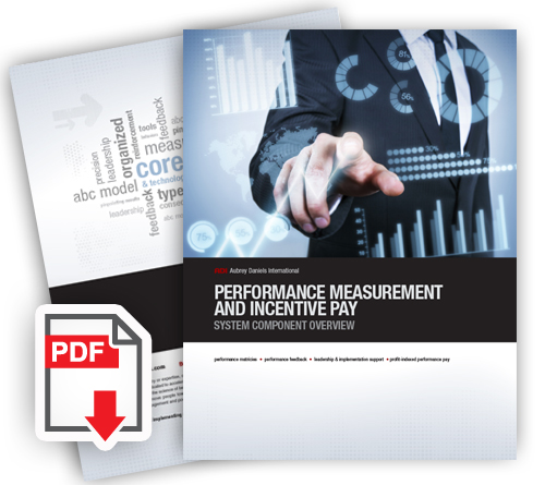 Performance Measurement & Incentive Pay