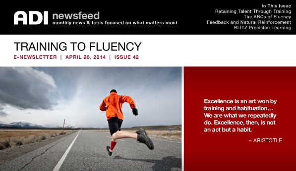 NewsFeed Issue 42 Training to Fluench
